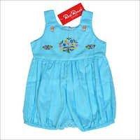 Blue Infant Romper