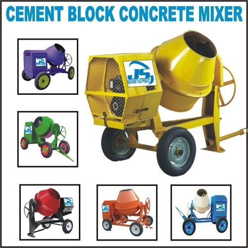 Cement Block Concrete Mixer