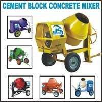 Cement Block Concrete Mixer