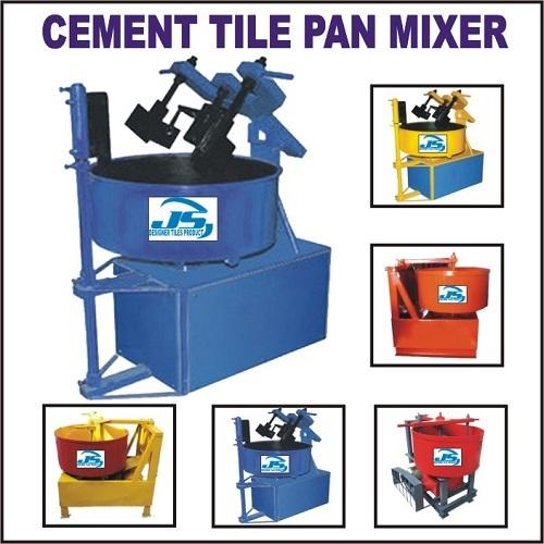 Cement Tile Pan Mixer