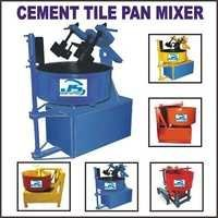 Cement Tile Pan Mixer