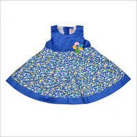 Girls Printed Frock