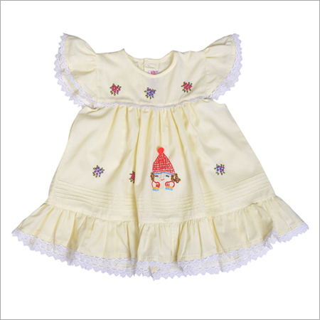 Girls White Frock