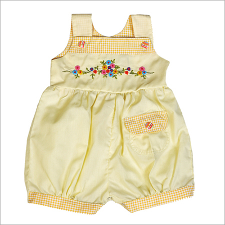 Yellow Girls Frock
