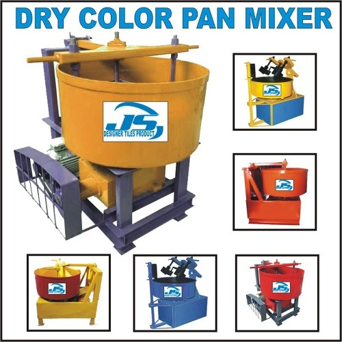 Dry Color Pan Mixer