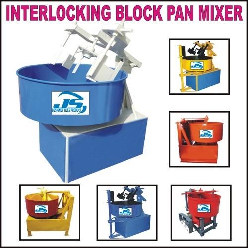 Interlocking Block Pan Mixer