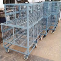INDUSTRIAL WIREMESH TROLLEY
