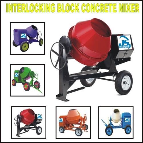 Interlocking Block Concrete Mixer