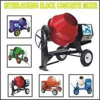 Interlocking Block Concrete Mixer