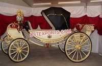 Elegance Wedding Victorian Horse Drawn Carriage