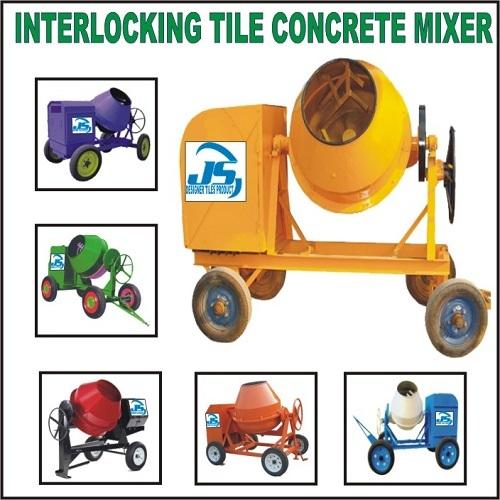 Interlocking Tiles Concrete Mixer