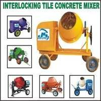 Interlocking Tiles Concrete Mixer