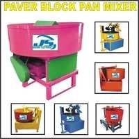 Paver Block Pan Mixer