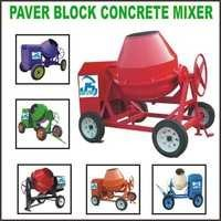 Paver Block Concrete Mixer