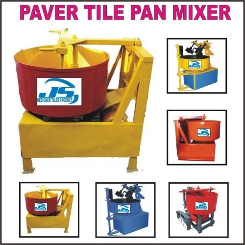 Paver Tile Pan Mixer