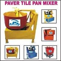 Paver Tile Pan Mixer