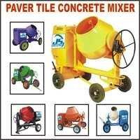 Paver Tiles Concrete Mixer