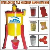 Interlocking Tile Hardener Making Machine
