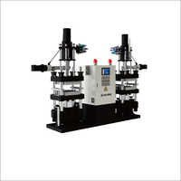 JLL Double Working Station Vertical Rubber Injection Machine