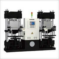 JLZ-V Double Working Station Vacuum Compression Molding Machine Series