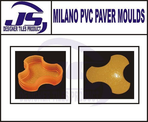 Pvc Paver Mould Milano