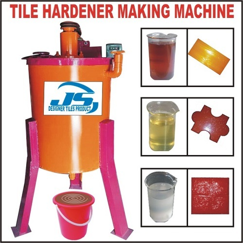Tile Hardener Making Machine