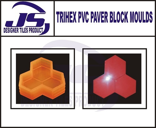 Pvc Paver Block Mould Trihex