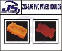 Zig-Zag Pvc Paver Block Mould