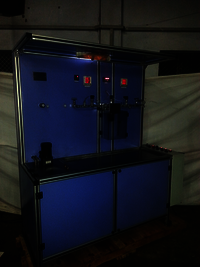 FILTER COLLAPSE TESTING MACHINE
