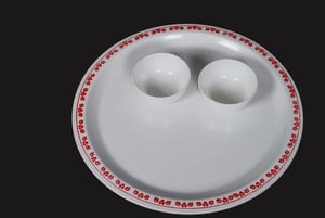 Printed Round Plate