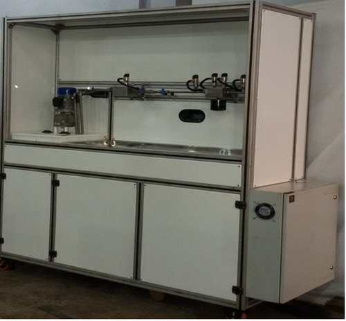 FULLY DIGITAL OIL FILTER TEST RIG