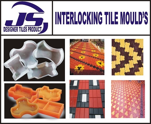 Interlocking Tiles Paver Block Mould