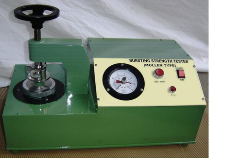 Analog Type Paper Burst Strength Tester