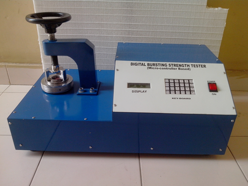 Digital Display Paper Burst Strength Tester