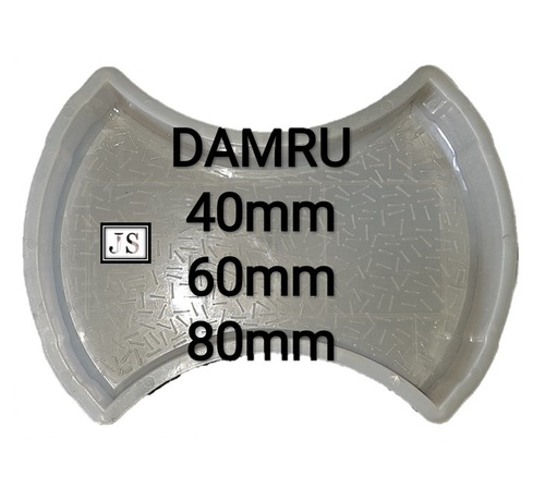 Damru Paver Block Plastic Mould