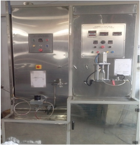 RV AND ANTI DRAIN TESTING MACHINE