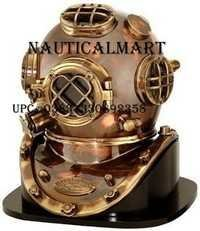 18 Antique Finish Brass & Copper Mark V Dive Helmet by NAUTICALMART