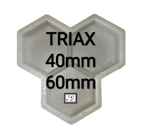 Trihex Paver Block Plastic Mould