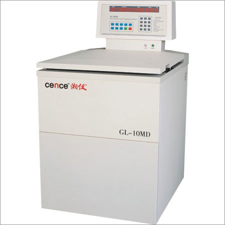 GL-10MD High Capacity High Speed Refrigerated Centrifuge