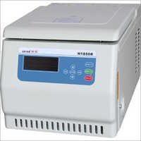 Tabletop High Speed Refrigerated Centrifuge