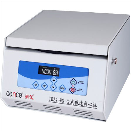 TDZ4-WS Tabletop Low Speed Centrifuge