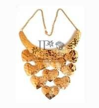 Brass Heart (Hasli) Necklace