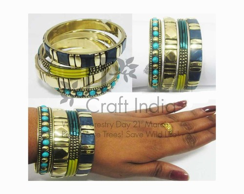 Ladies Handmade Bangle's Set