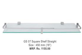 Square Shelf Straight