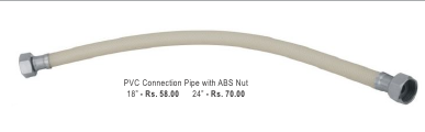 PVC Connection Pipe With ABS Nut