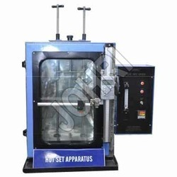 Laboratory Hot Set Test Apparatus