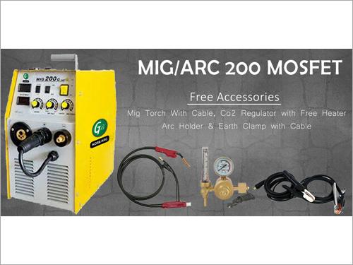 200 Mosfet MIG & MAG Welding Machine