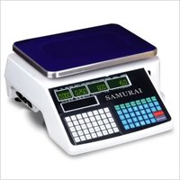 Label Printing Table Top Scale