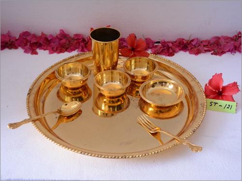 Brass Round Thal