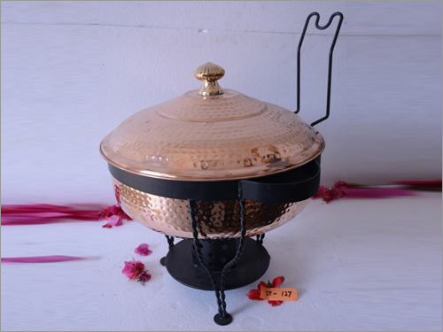 Brass Chef Dish Warmer